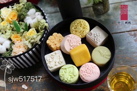 十三妈妈月饼打造纯美中国古风月花宴月饼,绿色食品引爆中秋佳节